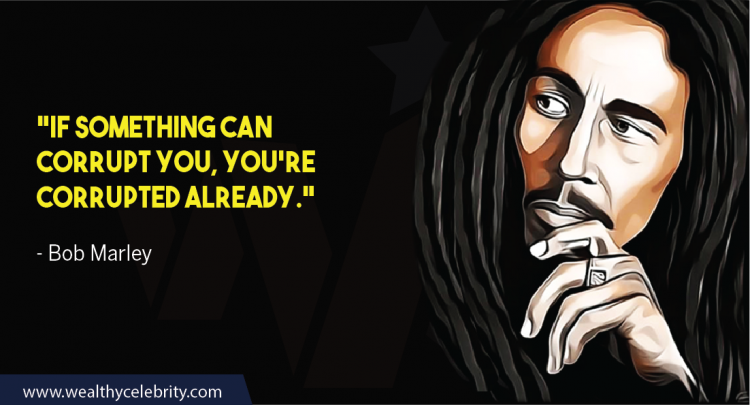 Bob Marley Quote About Corruption