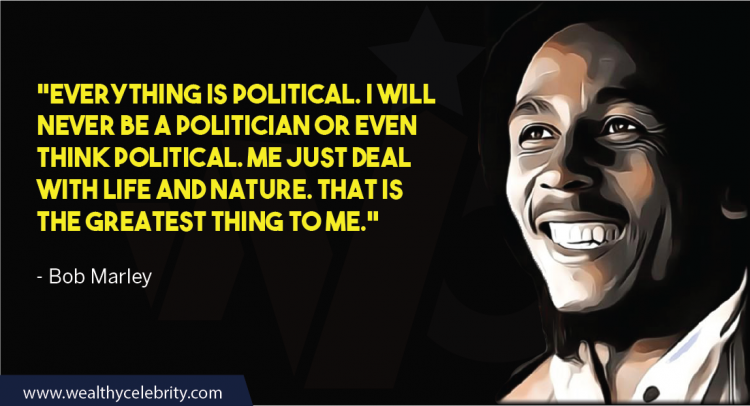 Bob Marley Quote About Politics