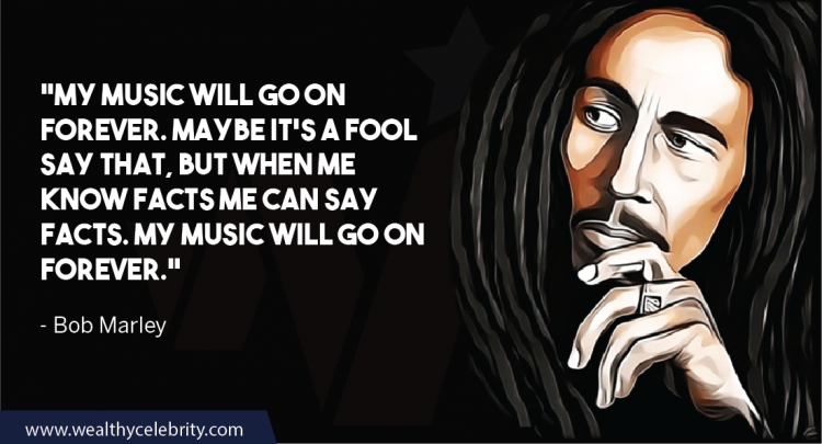 Bob Marley Quotes About Music