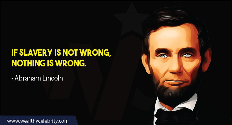 Abraham Lincoln about slavery education