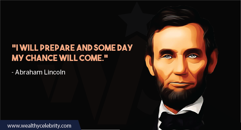 Abraham Lincoln about success