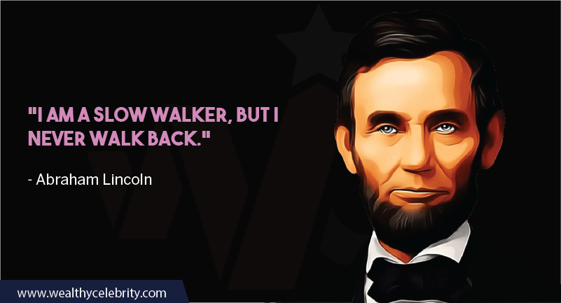 Abraham Lincoln quote about leadership