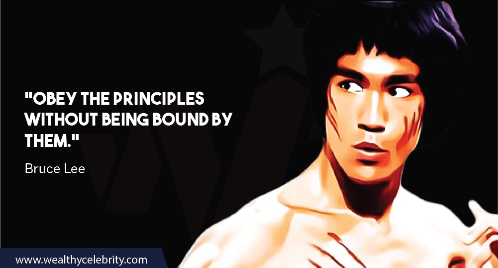 Bruce Lee Quote About Principles