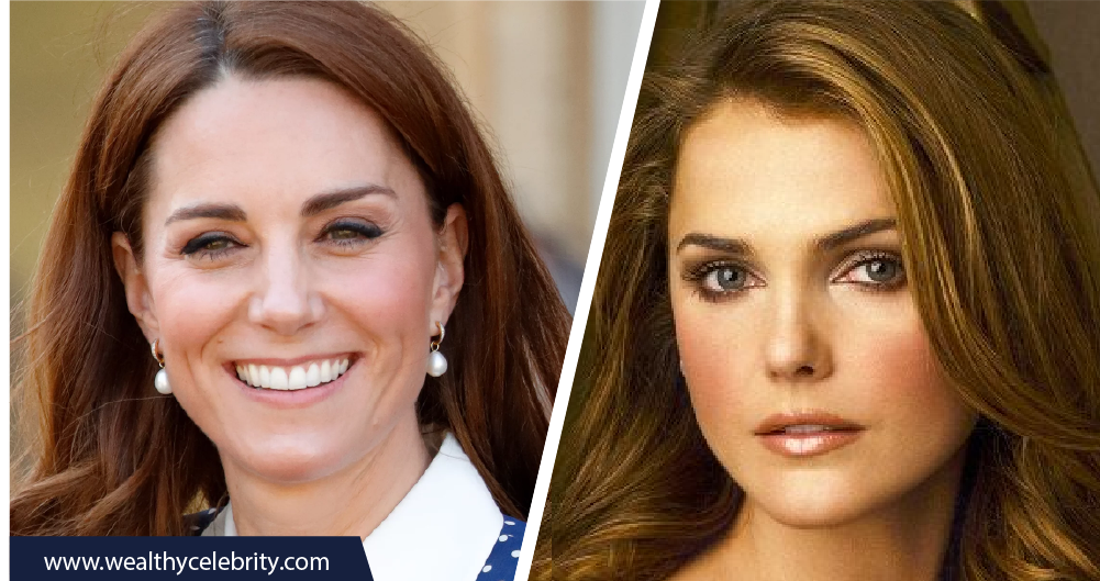Kate Middleton and Keri Russell