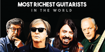 The Net Worth of the Most Famous Guitarists