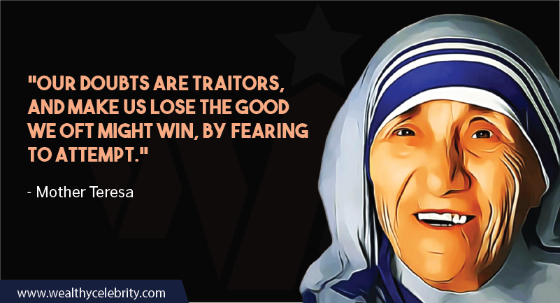 Mother Teresa Inspirational quote