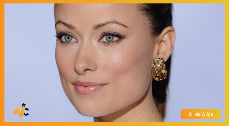 Olivia Wilde natural eye color - blue eyes