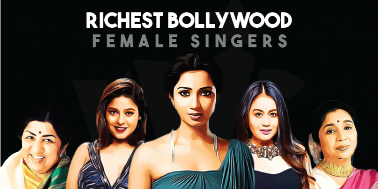 Richest Bollywood Singer Female