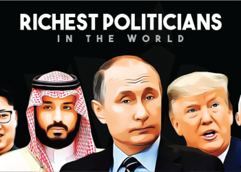 Richest politicians in world