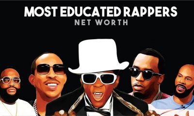 Top 10 Most Educated Rappers Net Worth