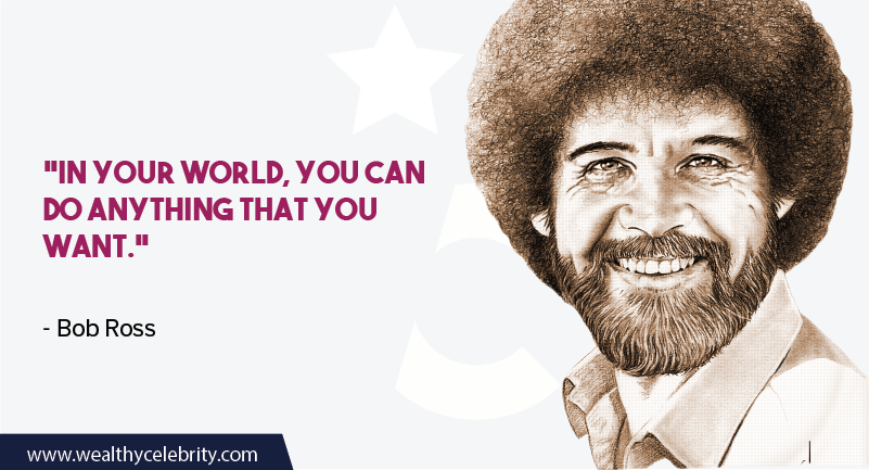 Bob Ross quote about Motivation and Inspiration