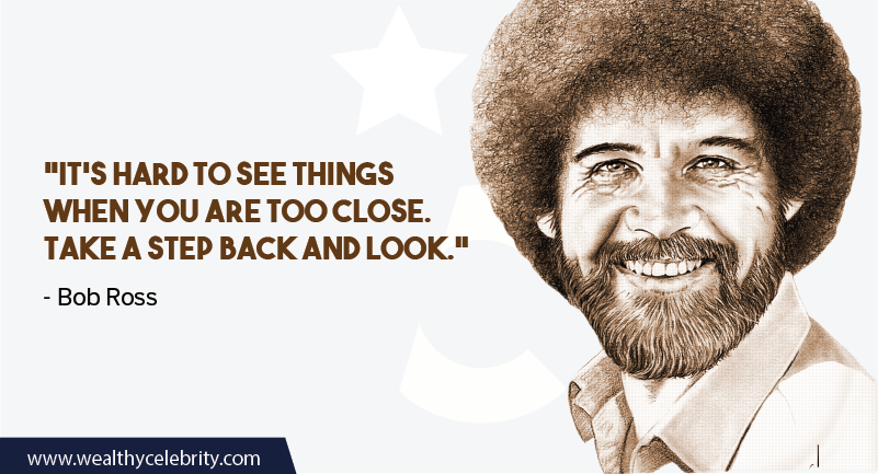 Bob Ross quote about Motivation