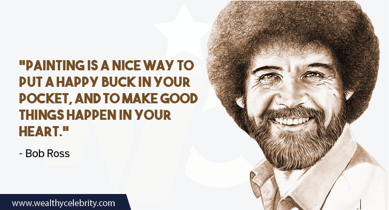 Bob Ross quote about Painting