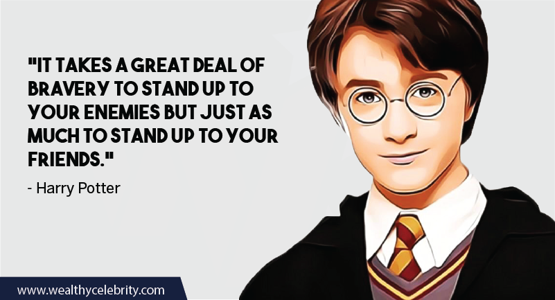 Harry Potter quote about friendship