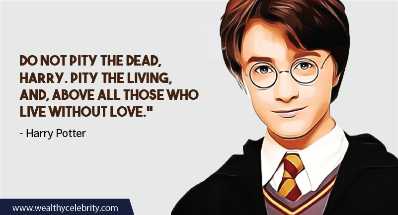Harry Potter quote about love