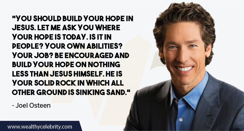 Joel Osteen Quotes about Hope