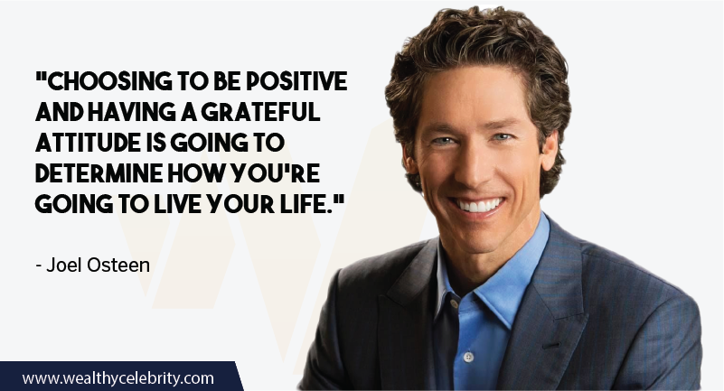 Joel Osteen Quotes about Positive Attitude