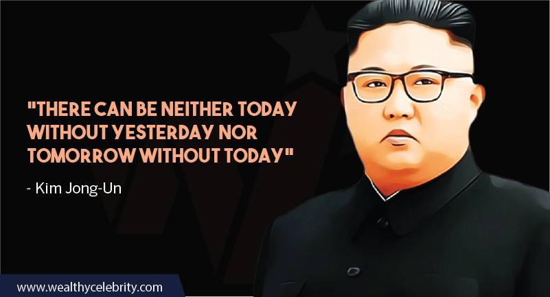 Kim Jong-Un quotes about life