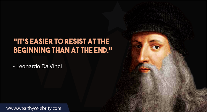 Leonardo da Vinci Quotes about handling things at right time