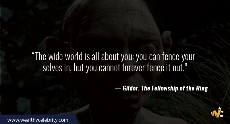 Lord of the Ring quote - Gildor, The Fellowship of the Ring