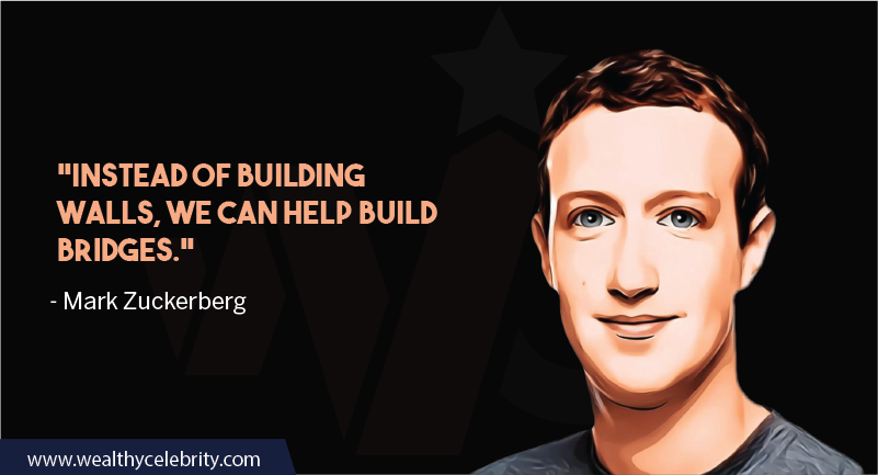 Mark Zuckerberg motivational quotes about brdiging and connecting people around the world