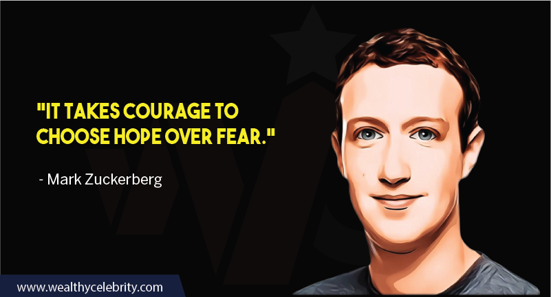 Mark Zuckerberg motivational quotes about overcoming fear
