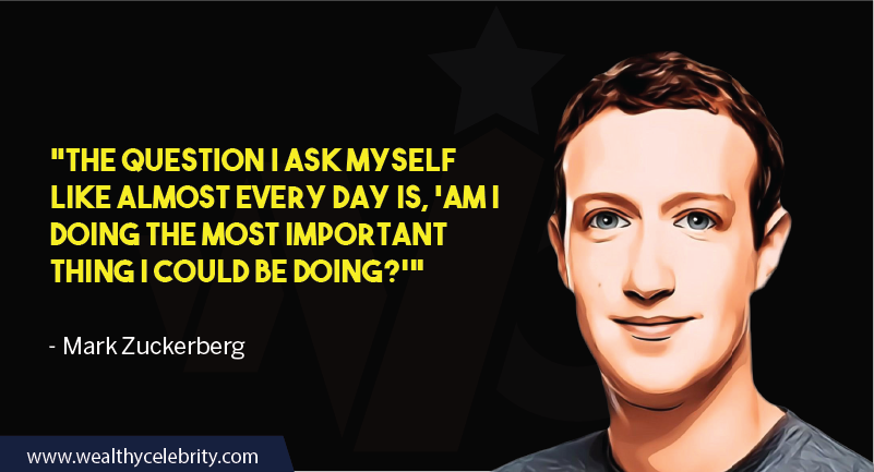 Mark Zuckerberg motivational quotes about self assesment