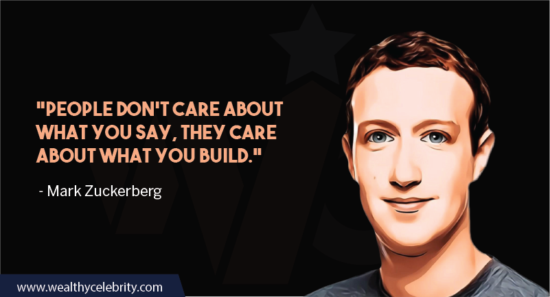 Mark Zuckerberg motivational quotes people behavior