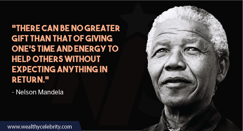 Nelson Mandela Quotes about time and love