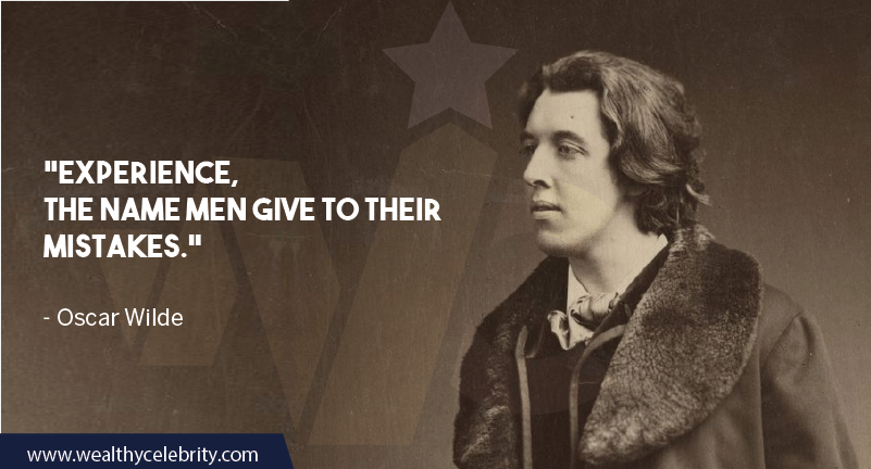 Oscar Wilde Quote about Mistake