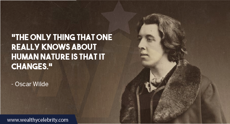 Oscar Wilde Quote about human nature