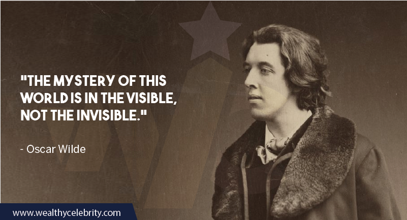 Oscar Wilde Quote about life and world