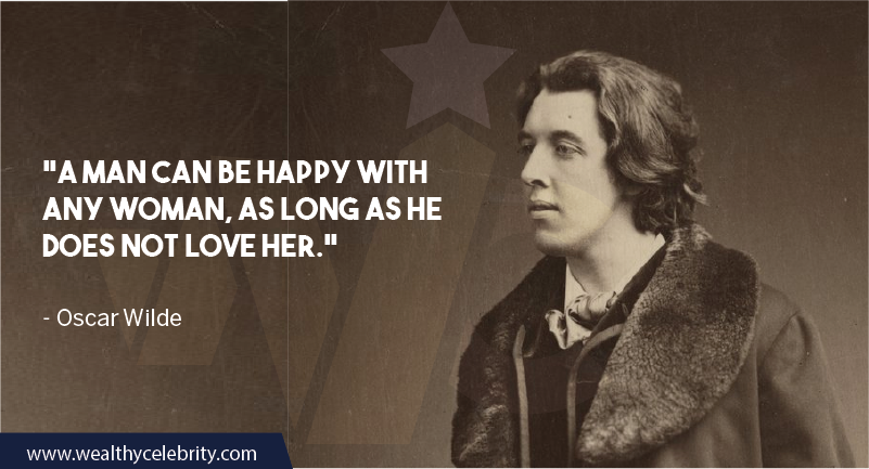 Oscar Wilde Quote about woman and love