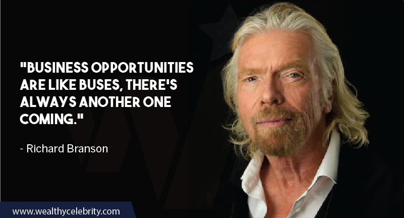 Richard Branson Quotes about Business Opportunity