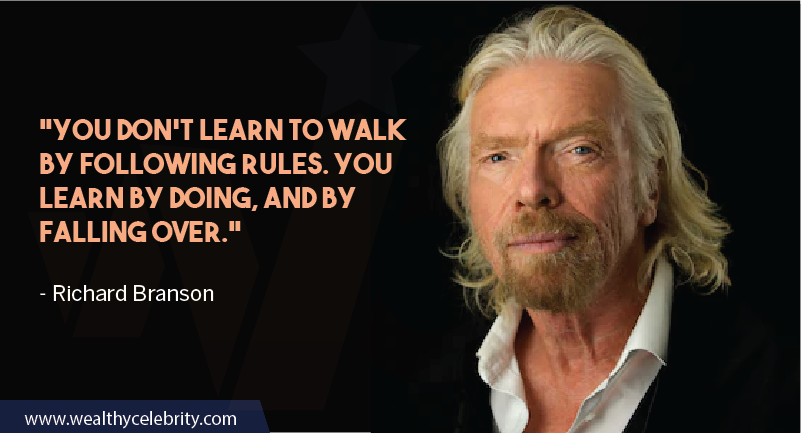 Richard Branson Quotes about Leadership and success