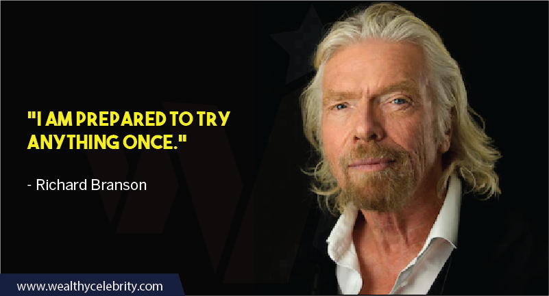Richard Branson Quotes about Leadership