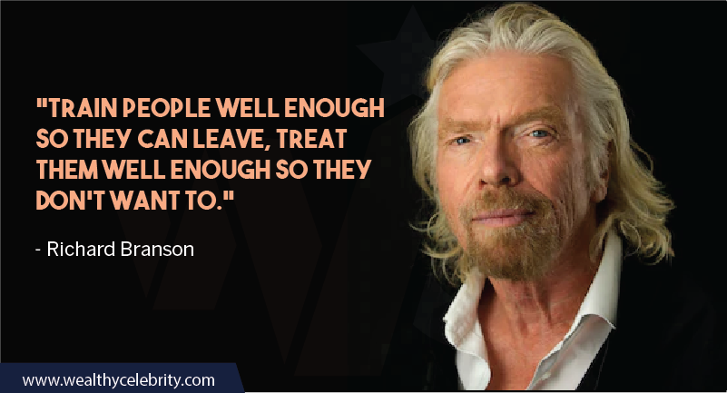 Richard Branson Quotes about work