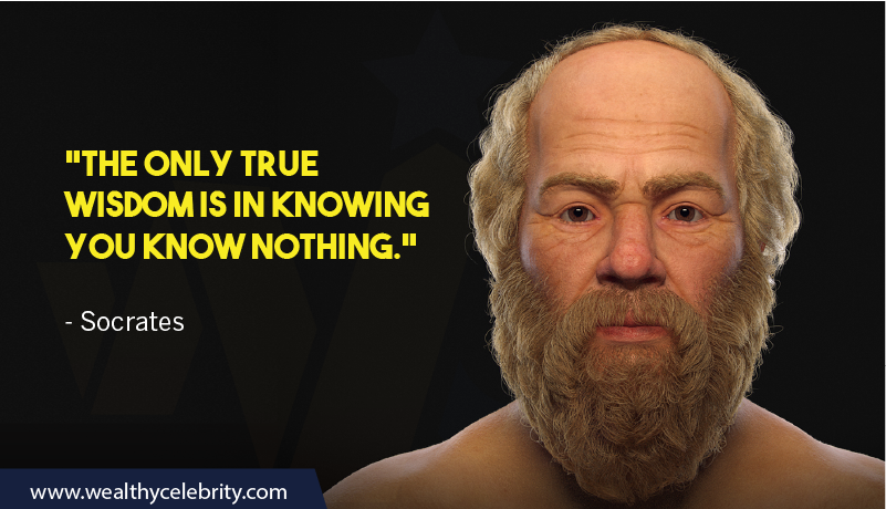 Socrates quotes about Wisdom & Knowing nothing