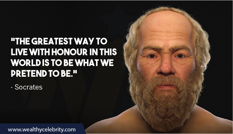 Socrates quotes about Wisdom and Honour