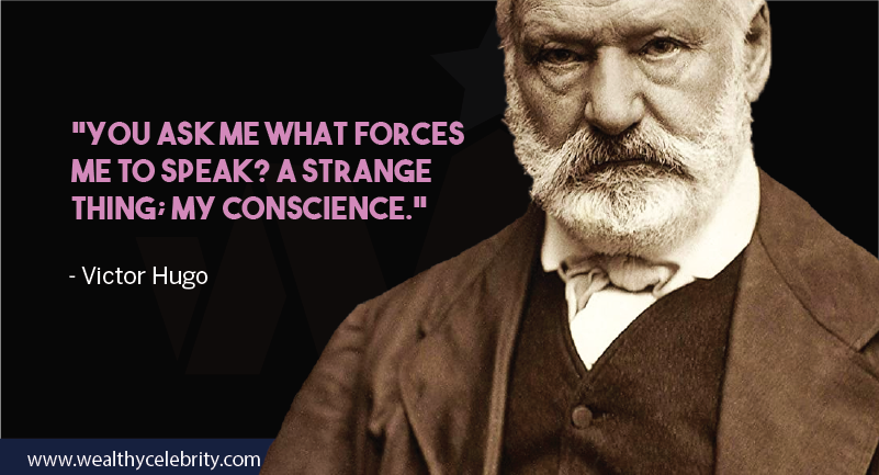 Victor hugo motivational quote about conscience from Les Miserables