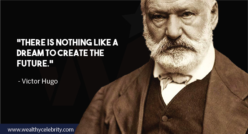 Victor hugo motivational quote about future and dream from Les Miserables