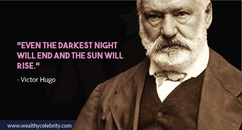 Victor hugo motivational quote from Les Miserables