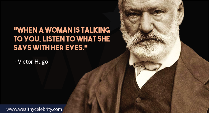 Victor hugo quote about woman