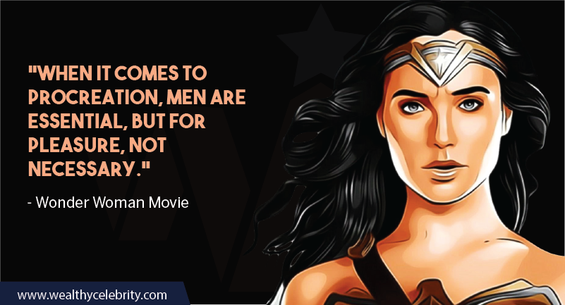 Wonder Woman Movie Quotes about Women empowerment