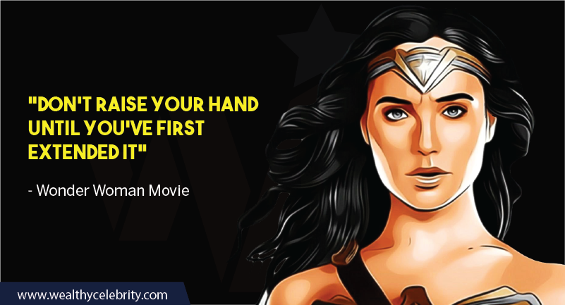 Wonder Woman Movie Quotes about helping others