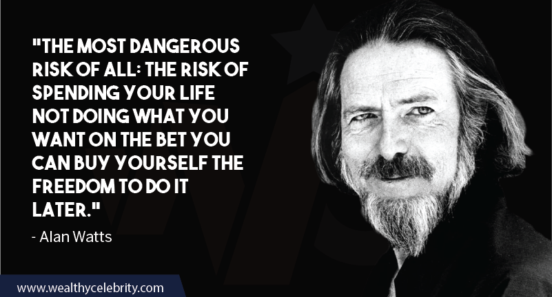 Alan Watts quotes about life and success