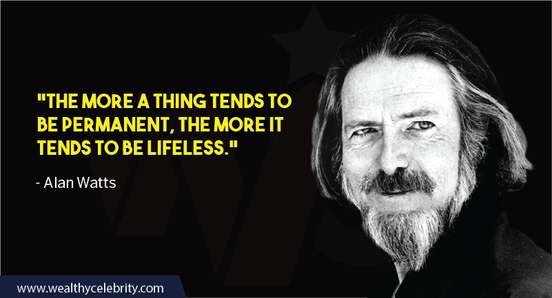 Alan Watts quotes about philosophy of life