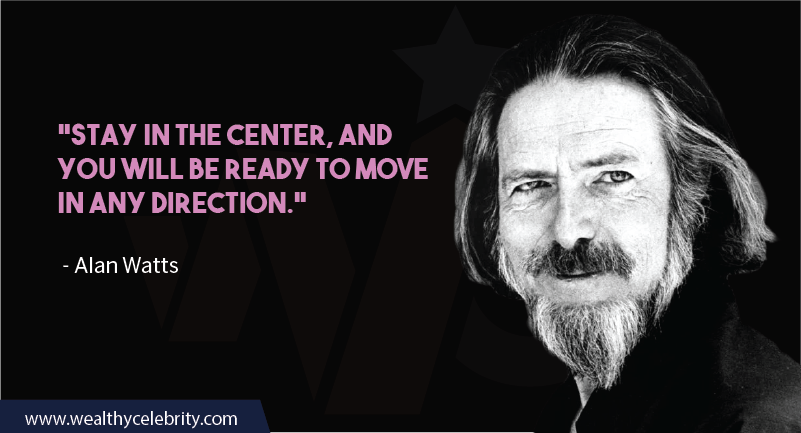 Alan Watts quotes about present and opportunities
