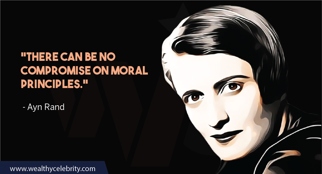 Ayn Rand Quotes about Compromise on Moral Principles