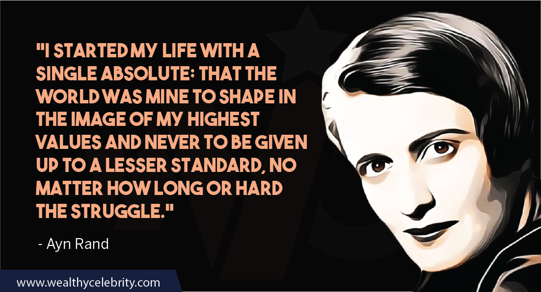 Ayn Rand Quotes about Life and Struggle